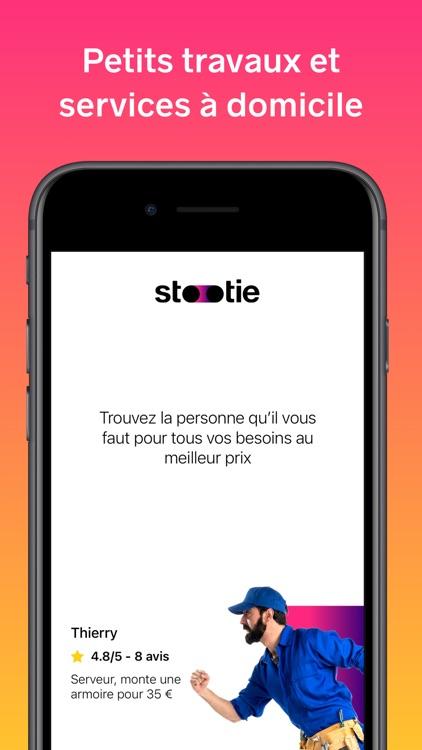 Stootie - Services à domicile screenshot-0