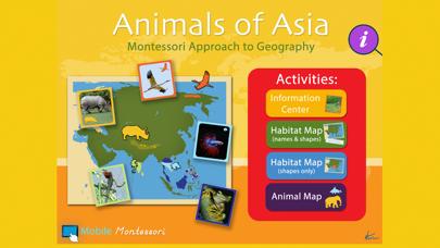 Montessori - Animals of Asia screenshot 1