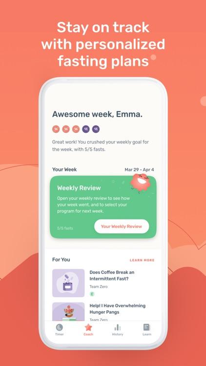 Zero - Simple Fasting Tracker screenshot-3