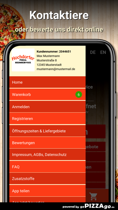 Hochdorfer Pizza Hochdorf screenshot 3