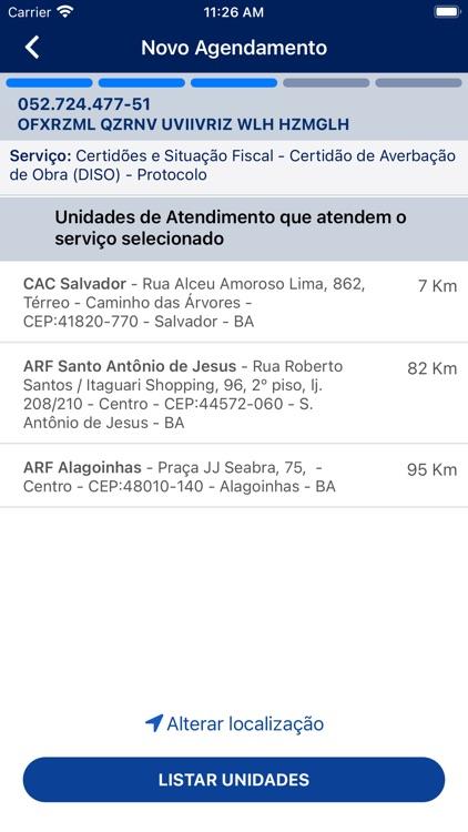Agendamento RFB screenshot-4