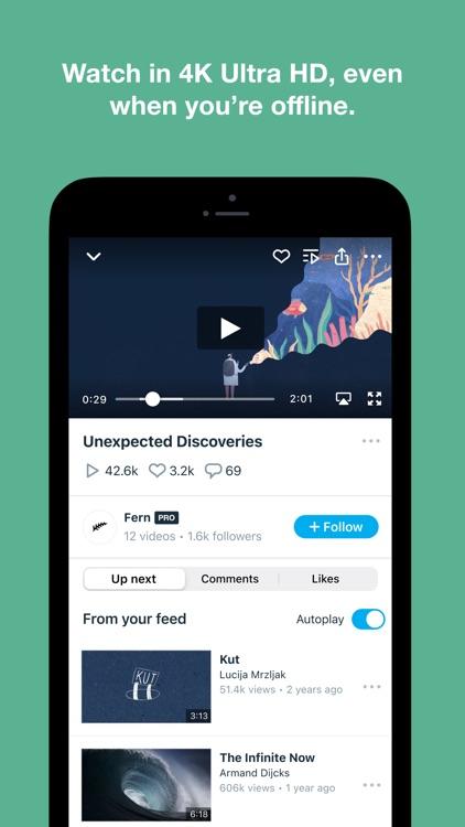 Vimeo - Ad-Free Video Player screenshot-4