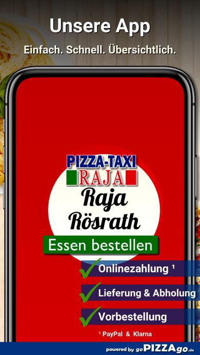 Pizza-Taxi Raja Rösrath screenshot 1