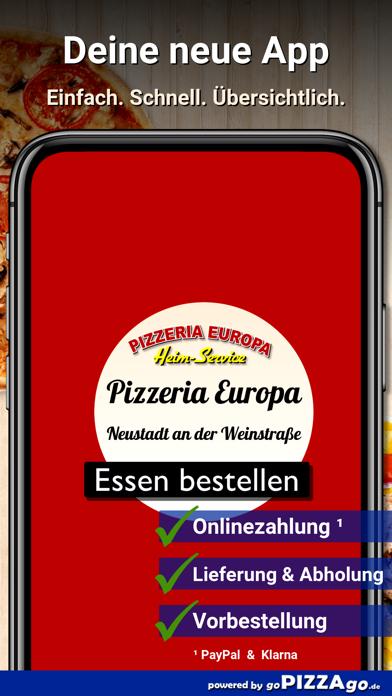 Pizzeria Europa Neustadt screenshot 1