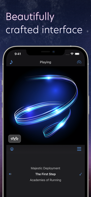 TrailMix Pro Step to the Beat Screenshot