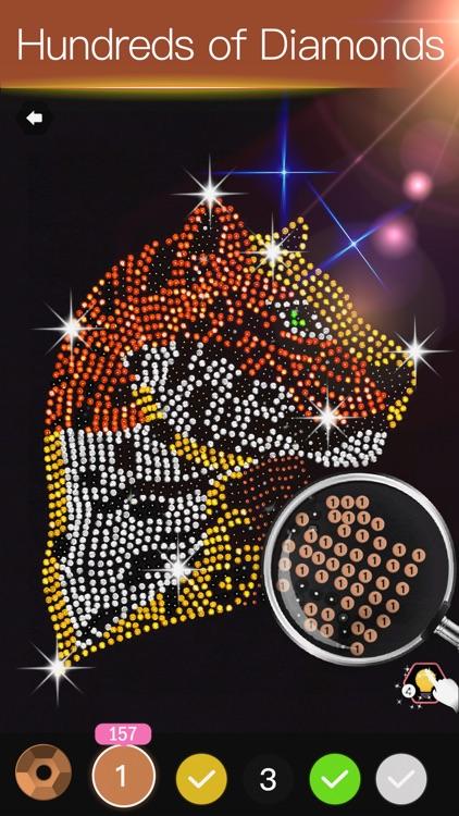 Diamond Painting Art Game screenshot-7
