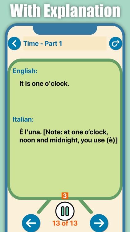 Learn Italian for Beginners screenshot-6