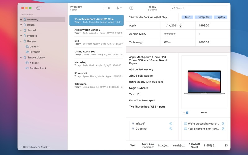 DataOrganizer скриншот программы 1