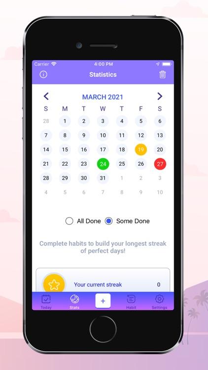 Motiva Habit Tracker