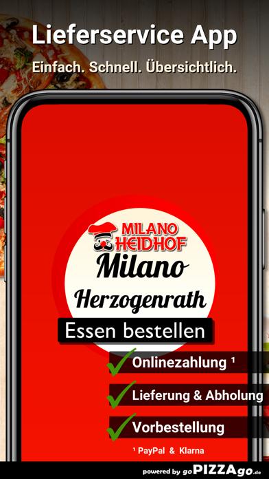 Pizzeria Milano Herzogenrath screenshot 1