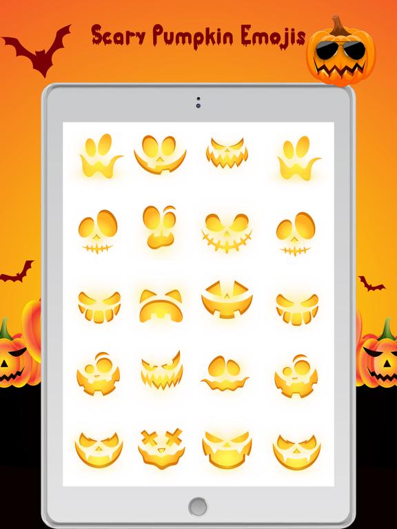 Scary Pumpkin Emojis screenshot 9
