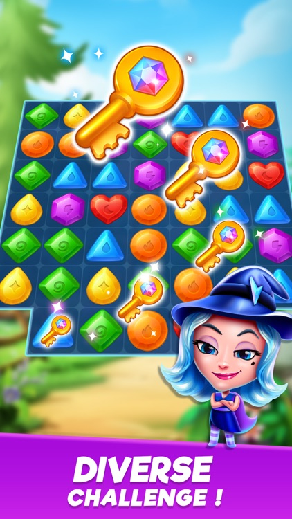 Crystal Crush - Match 3 Game screenshot-3