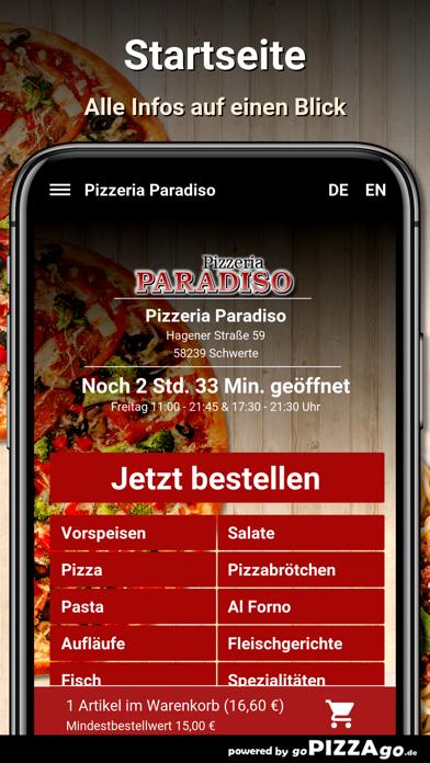 Pizzeria Paradiso Schwerte screenshot 2