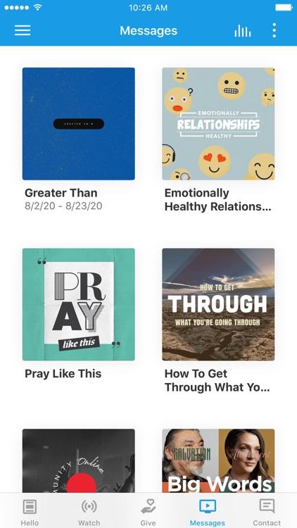 Community Christian App