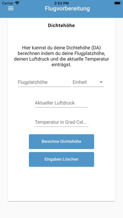 Flugvorbereitung screenshot 2