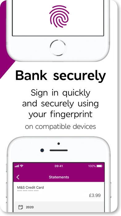 M&S Banking screenshot one