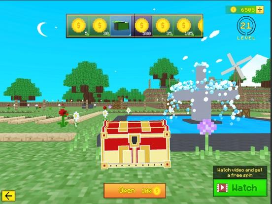 Ipad Screen Shot World Craft Battle Royale 5