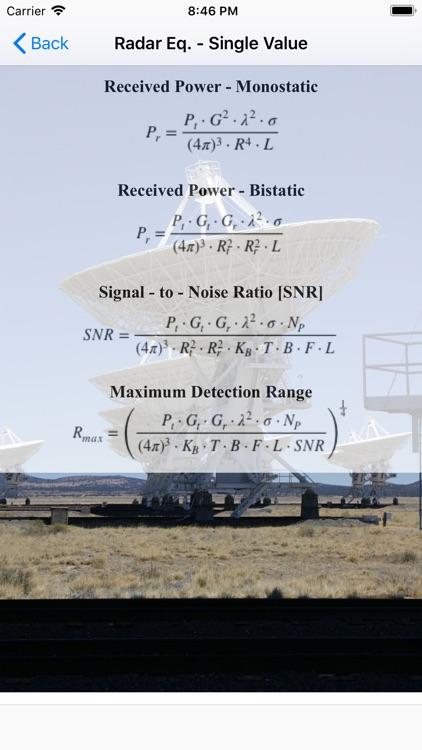 Radar Analysis Toolbox Lite screenshot-3
