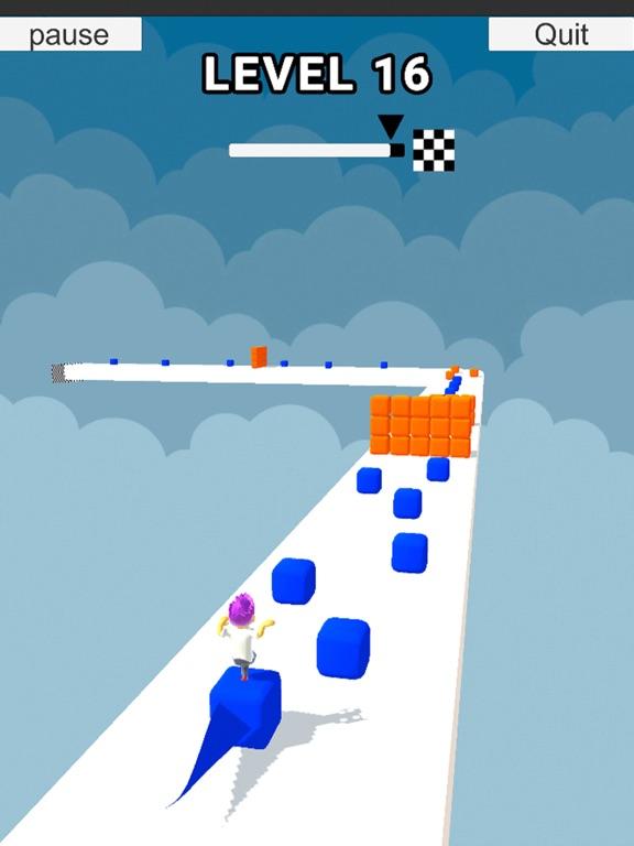 Cube Stacker Surfer 3D Run screenshot 4