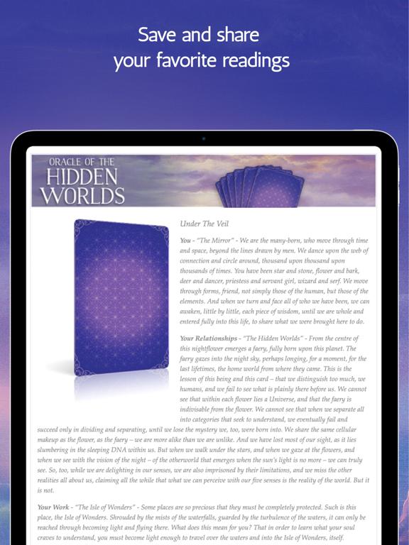 Ipad Screen Shot Oracle of the Hidden Worlds 8