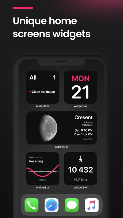 WidgetBox: Widgets for iPhone screenshot 1