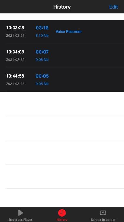 Voice Recorder,Audio recording screenshot-6