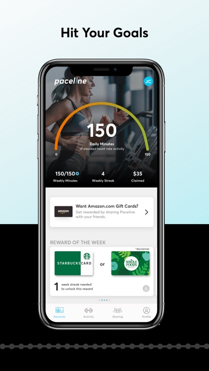 Paceline: Rewards for Exercise screenshot-4