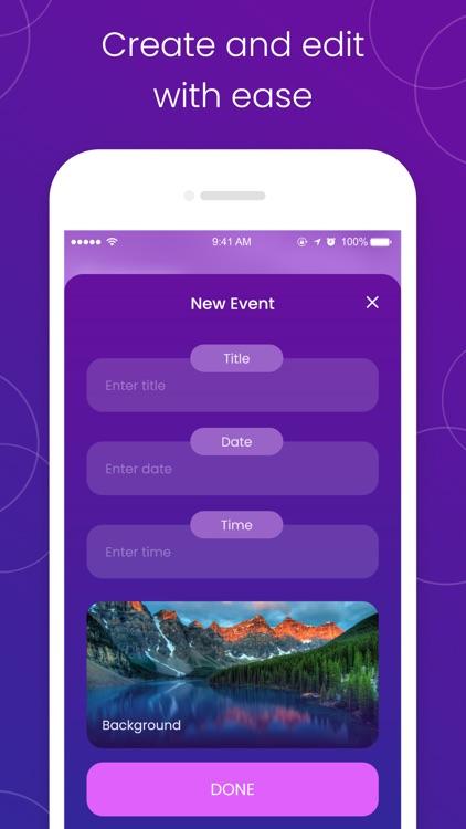 The Countdown: day counter app screenshot-3
