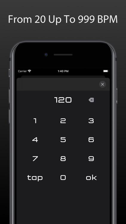 Metronome Touch screenshot-5