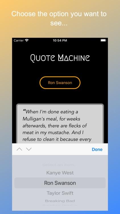 Quote Machine