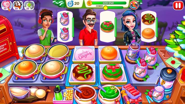Christmas Fever Cooking Games screenshot-3