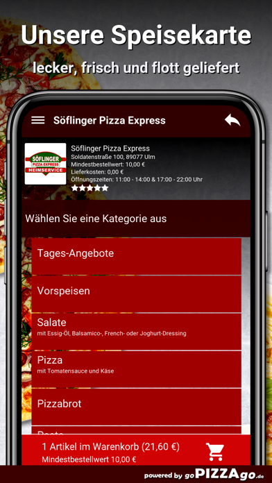 Söflinger Pizza Express Ulm screenshot 4