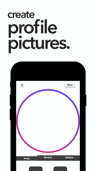 Avi: Profile Picture Maker screenshot 1