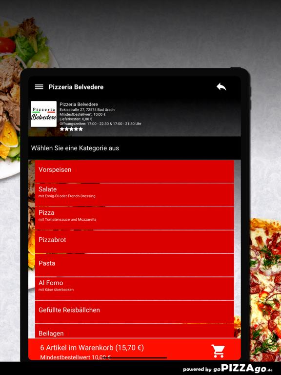 Pizzeria Belvedere Bad Urach screenshot 8