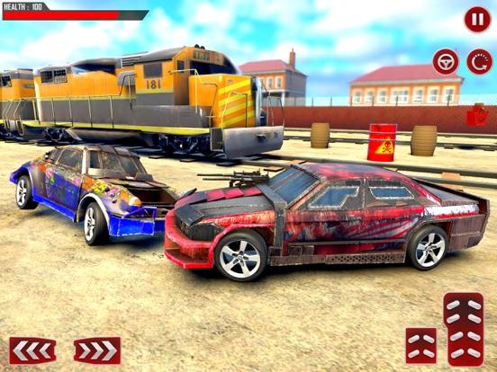 Train Car Derby Crash Sim 3D screenshot 6