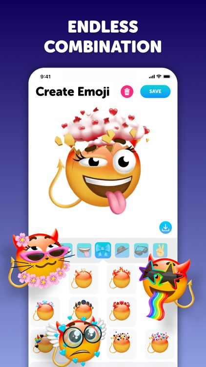 Emoji up: emoji maker stickers screenshot-4