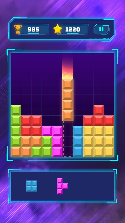 Brick Block Puzzle Classic screenshot-1