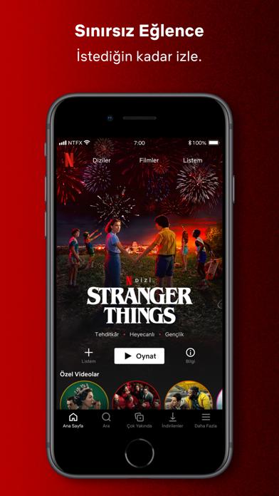 Netflix iphone ekran görüntüleri