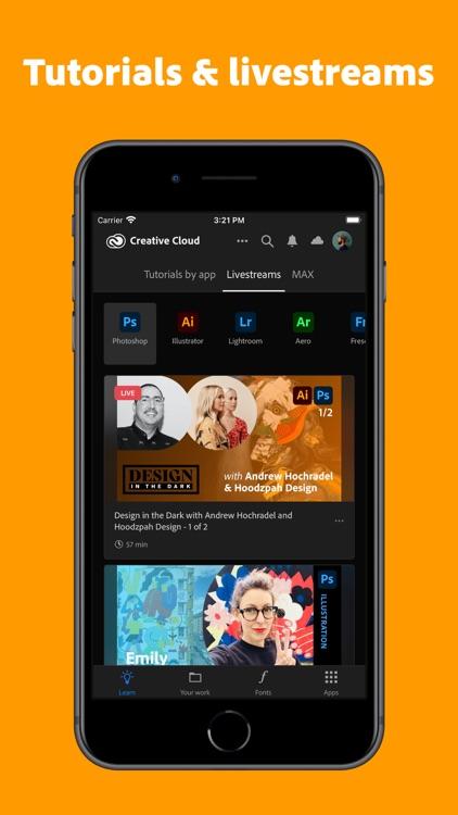 Adobe Creative Cloud screenshot-3
