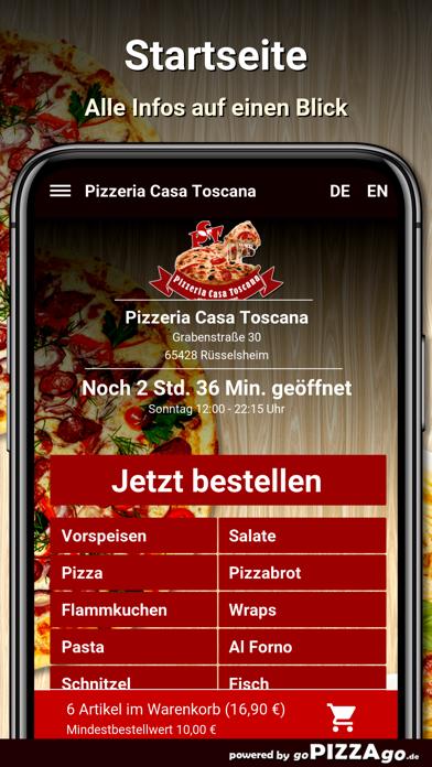 Casa Toscana Rüsselsheim screenshot 2