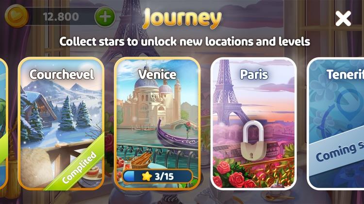 Solitaire Voyage Tripeaks Card screenshot-3