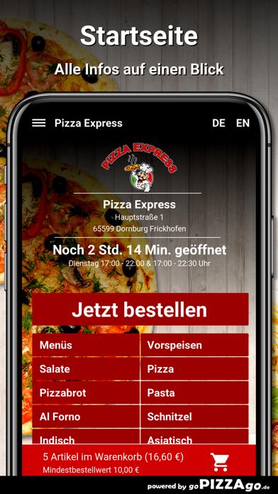 Pizza Express Dornburg screenshot 2