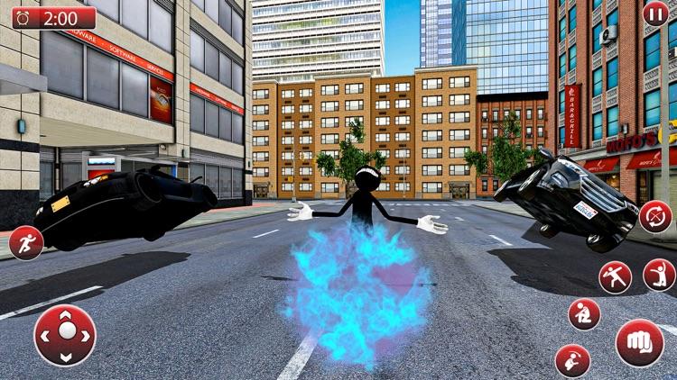 Gangster Cartoon Cat Crime screenshot-3