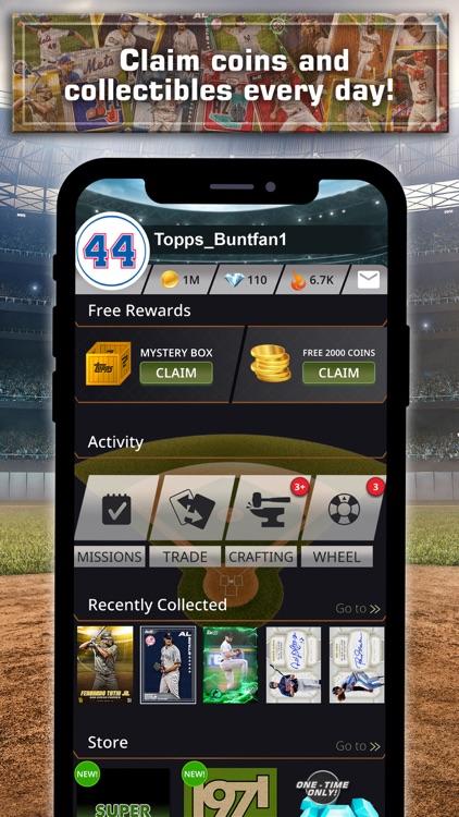 Topps® BUNT® MLB Card Trader screenshot-9