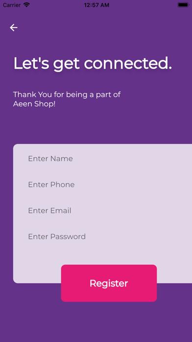 Aeen Shopلقطة شاشة2