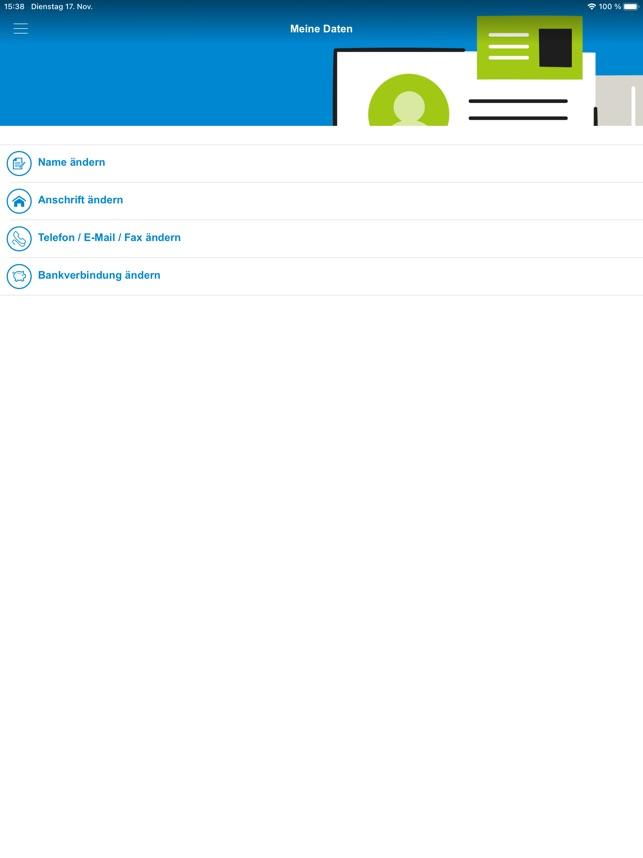 Heimat Krankenkasse Serviceapp Im App Store