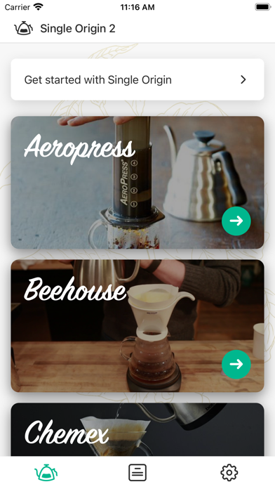 Single Origin 2 - Coffee Timer Screenshots