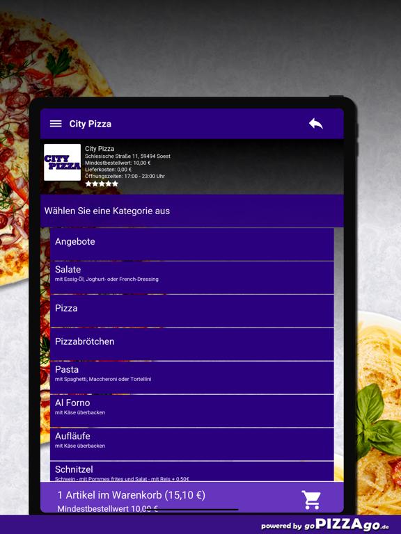 City Pizza Soest screenshot 8