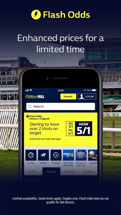 William Hill: Sports Betting screenshot-4