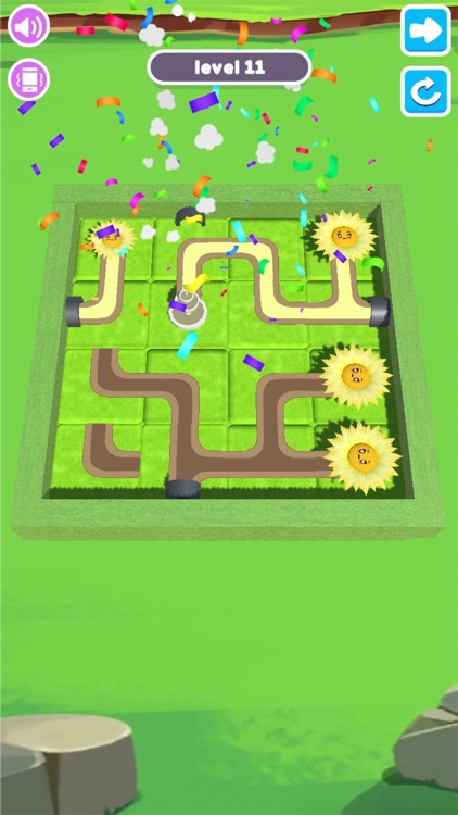 Water Connect Puzzle: Brain go screenshot-6